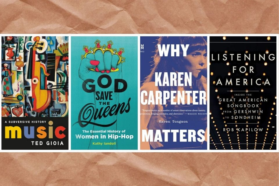 THE READING ROOM: New Music Books to Cozy Up With