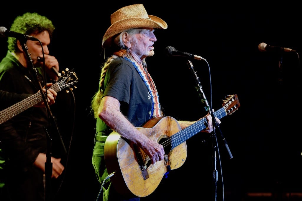 Willie Nelson - Photo by Kim Reed